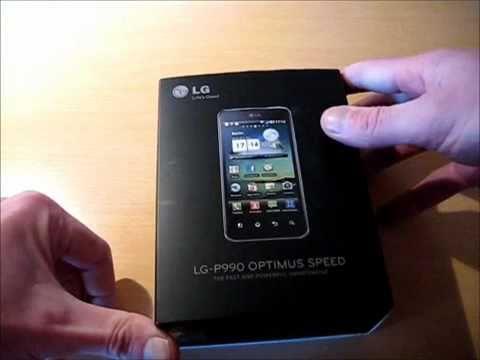 LG-P990 Optimus Speed Unboxing Video