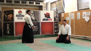 hanmi handachi shomen uchi sankyo [AIKIDO]  basic technique