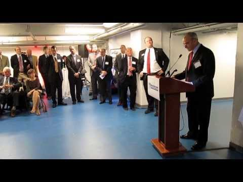 Speakers' remarks during dedication of Ted A. Nash Land Based Rowing Center at UPenn