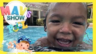 3 YEARS OLD LEARNING HOW TO SWIM FREE STYLE