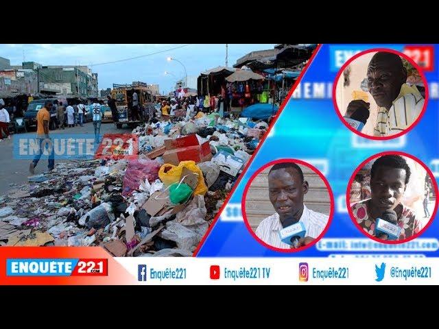 Colère des Habitants des HLM Dakar Saleté Woul Nite Gni Gno Saleté