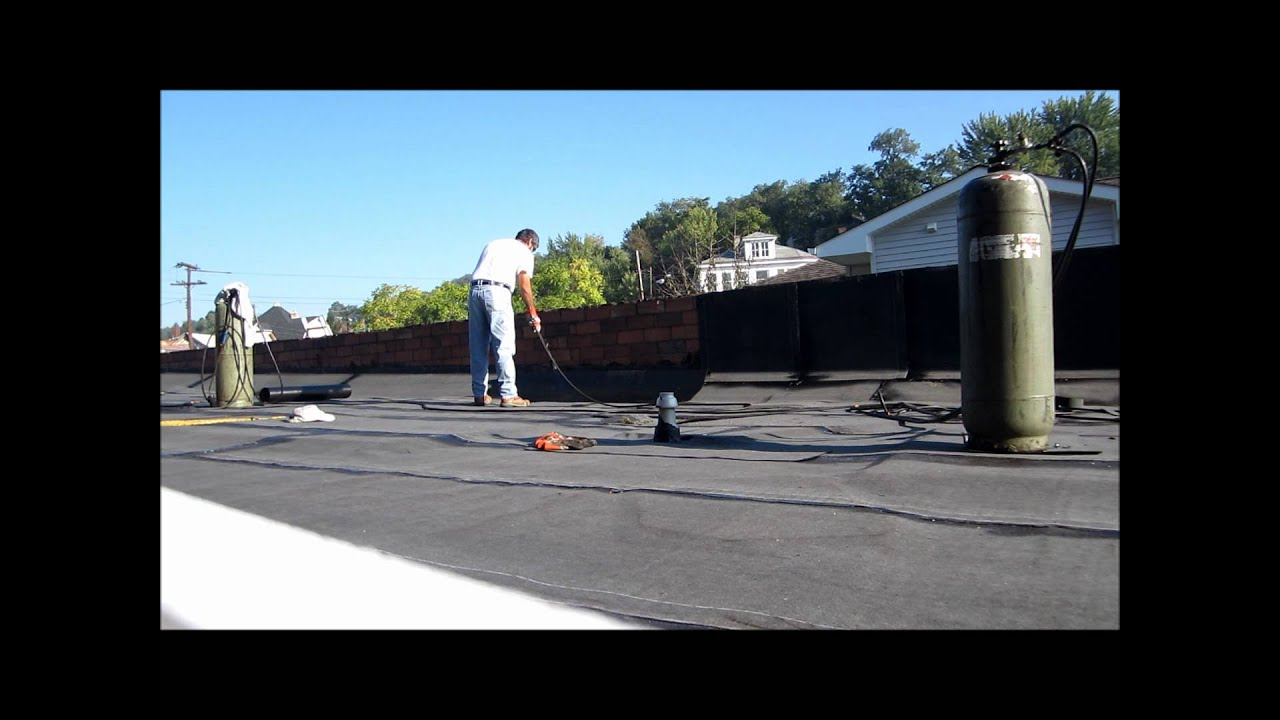 Firestone Modified Bitumen Torch Down Roof Repair East