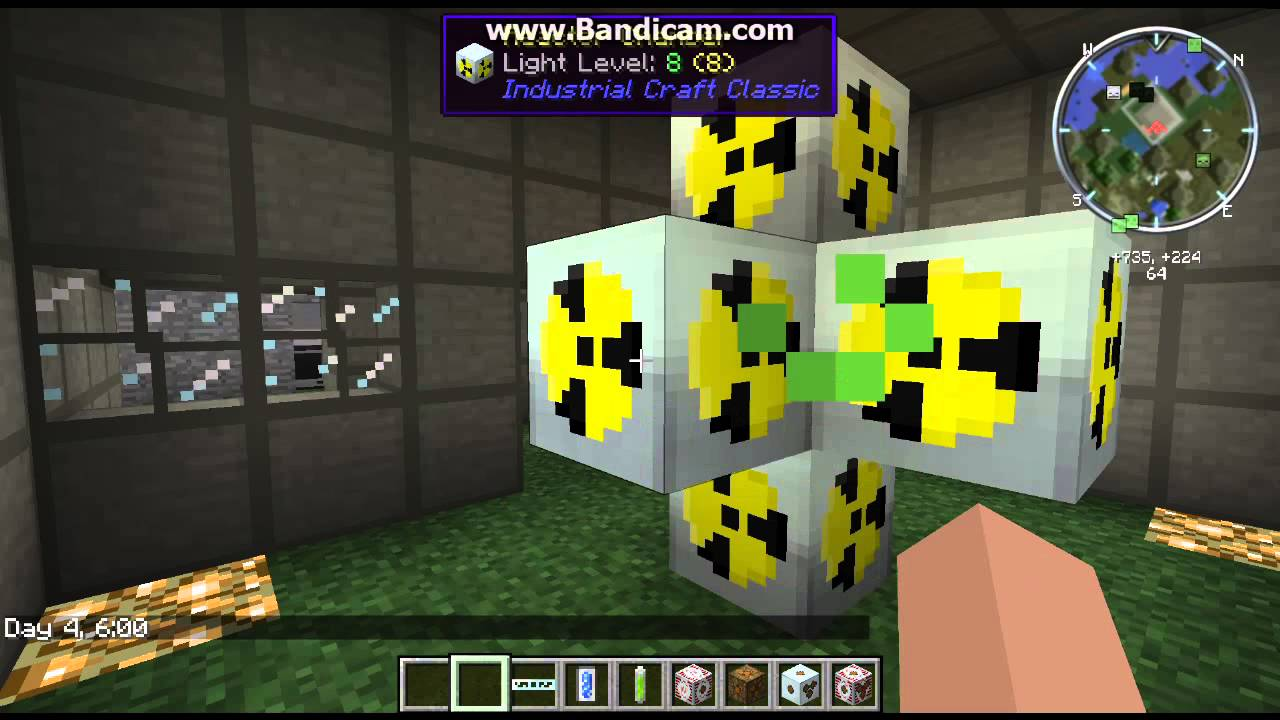 How to make a nuclear power plant in minecraft tekkit