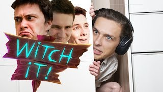 MenT SCHOVKA! | Witch It w/ Bax, Herdyn a House