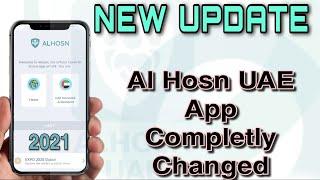 NEW UPDATE- AL HΟSN UAE App Completely Changed😲 | How To Login In Al Hosn UAE App
