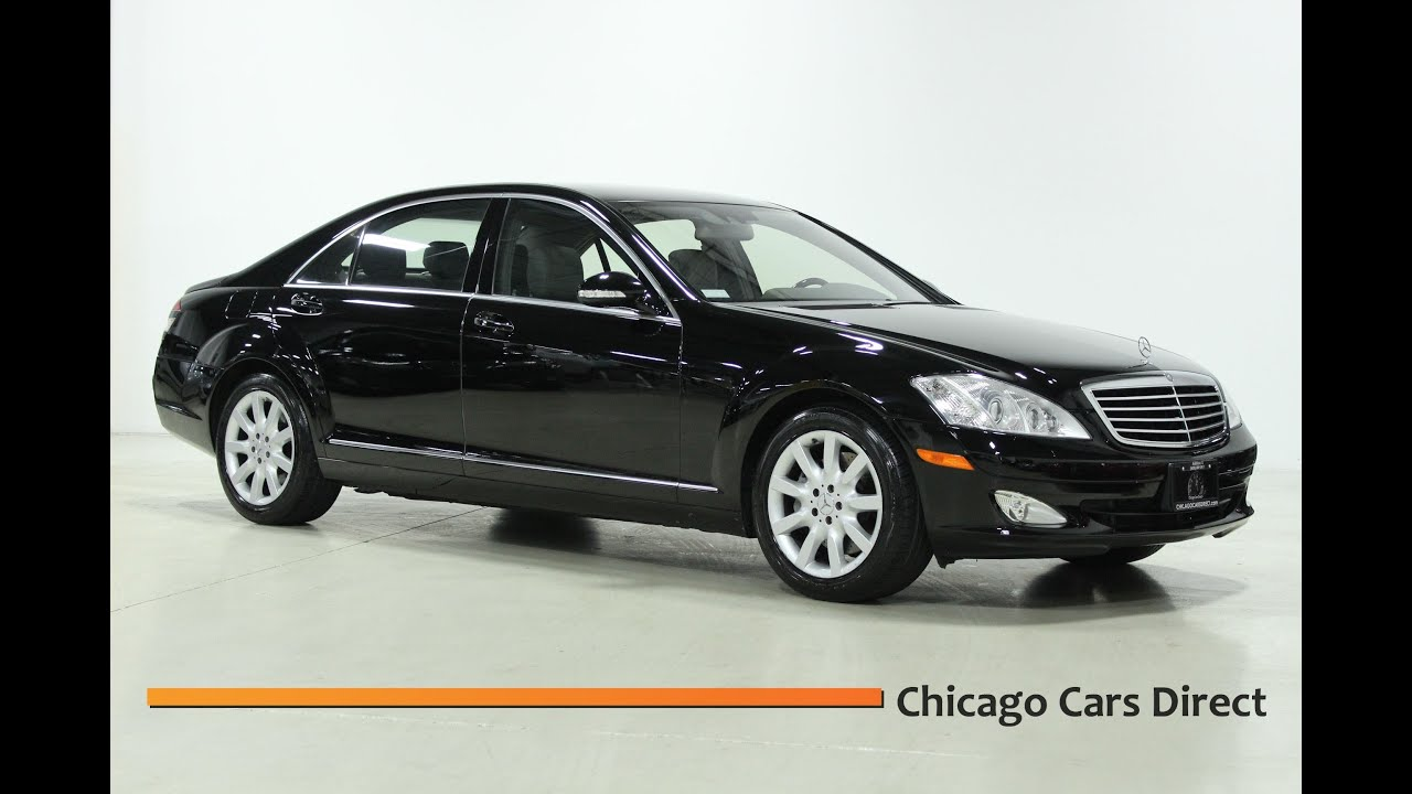 Chicago Cars Direct Presents a 2007 Mercedes Benz S550 4Matic AWD in