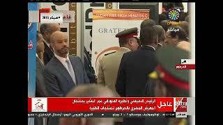 السيسي ونظيره السوداني يفتتح المعرض المصري للمنتجات الطبية بالخرطوم