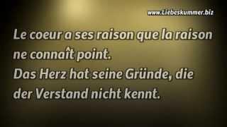 Liebe whatsapp französisch status Sprüche Verlorene
