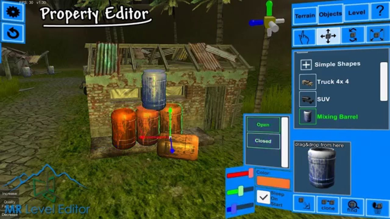 Multiplatform Runtime Level Editor - Unity Asset Store