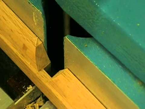 Routing A Half Lap Joint In Window Mullions Youtube