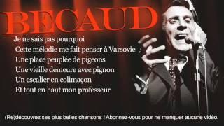 Gilbert Bécaud - Le pianiste de Varsovie - Paroles (Lyrics)