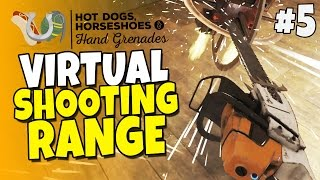 Virtual Shooting Range & Guns #5 - Chainsaw Massacre - H3VR Htc Vive