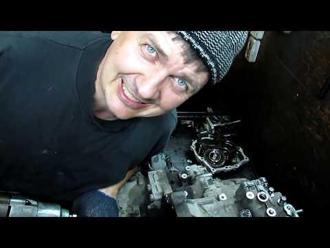 Тойота Раф  4 ремонт коробки. Гул на стоячую. Часть 1.