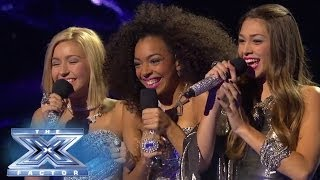 "Sweet Suspense Keeps ""Hanging On"" - THE X FACTOR USA 2013"