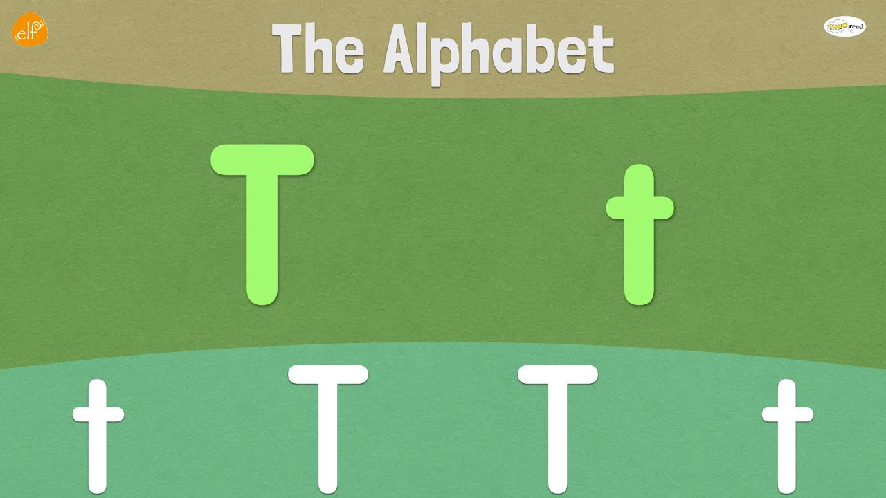 Letter T | Early Phonics | Think Read Write | ELF Learning ...