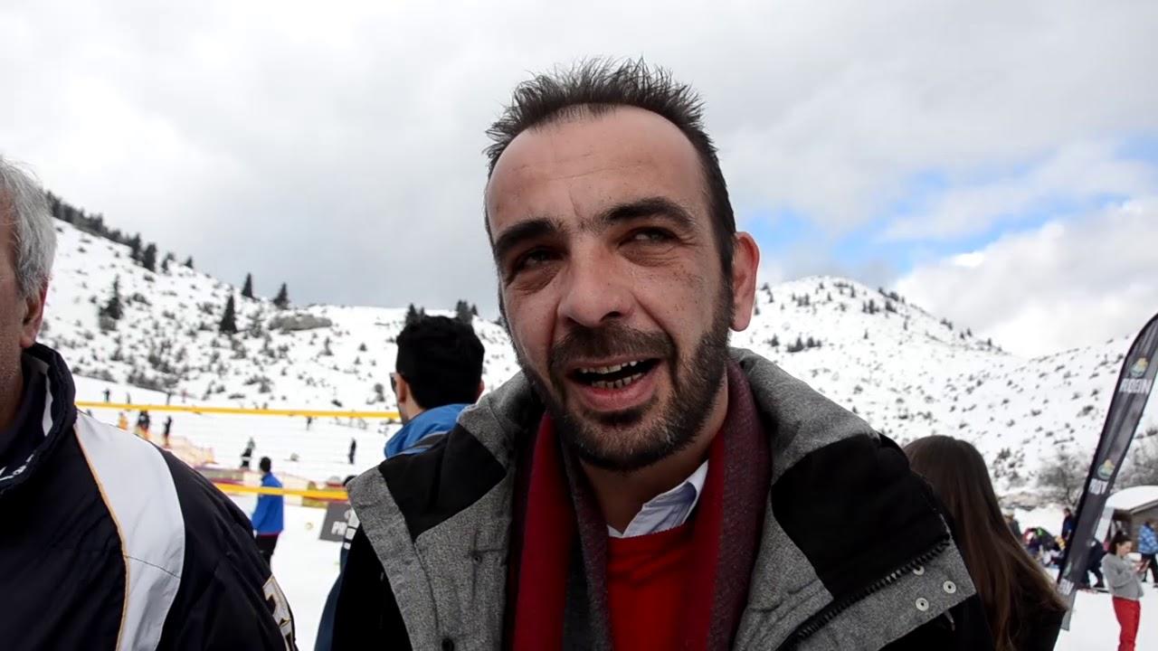 Με επιτυχία πραγματοποιήθηκε η πρώτη μέρα του 2ου Πανελλήνιου Πρωταθλήματος Snow Volley στο Μαίναλο