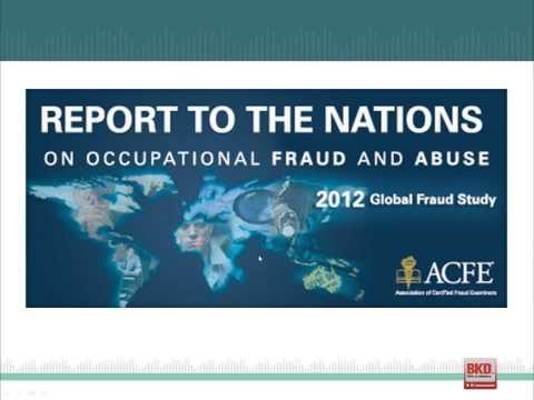 Fraud in Government Entities: Lessons from the Trenches