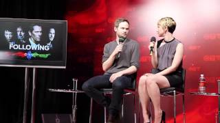 Shawn Ashmore & Valorie Curry talk 'The Following'