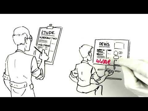 Vidéo Fouinard met votre devis travaux aux enchères