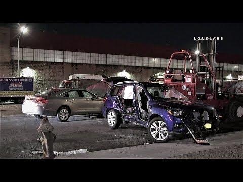 Car Runs Light, Traps Driver | Crown Heights, Brooklyn
