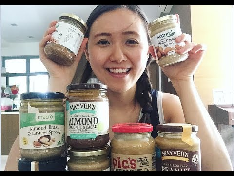 NUT BUTTERS TASTE TEST | Which is my favourite?!
