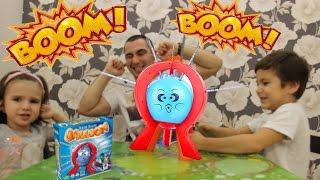 Бум Бум Балун открываем играем в игру с лопающим шариком Boom Boom Balloon game with a burst balloon