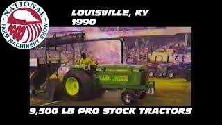 1990 NFMS Louisville, KY 9,500 Pro Stock Tractors