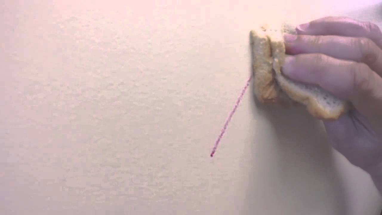 To Remove Crayon Marks On A Wall   YouTube
