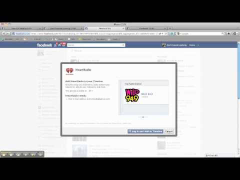 Using Music Apps With Facebook's Timeline