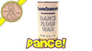 Lundmark Powdered Dance Floor Wax 1lb Tin - Get Your Disco Groove On!