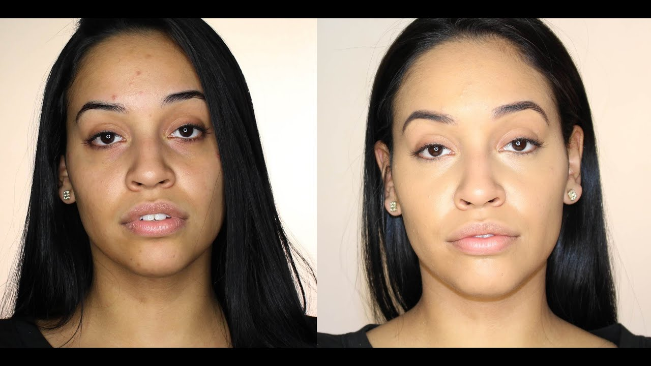 Natural Foundation Tutorial For Acne / Blemishes