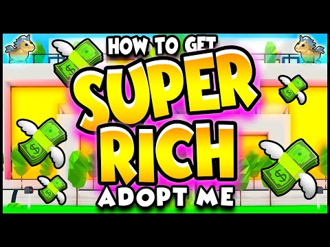 *TOP 5 SECRETS* How To Get SUPER RICH In Adopt Me!! ADOPT ME Hacks, Secrets & Tips To Make Money!!