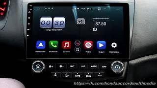 Обзор Honda Accord 7 Android Часть 1