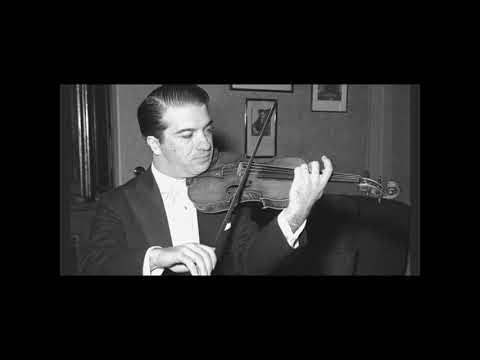 Ruggiero Ricci at Carnegie Hall, 5 October 1947