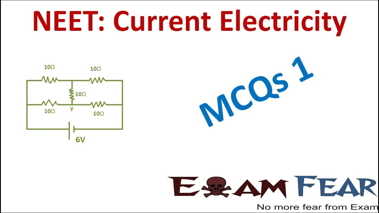 NEET Physics Current Electricity : Multiple Choice Previous Years Questions  MCQs 1