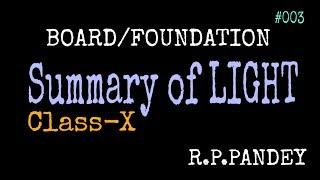 Summary of LIGHT 02