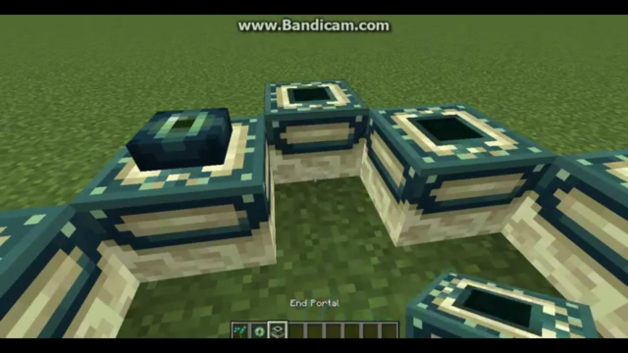 how to build an ender portal in minecraft xbox