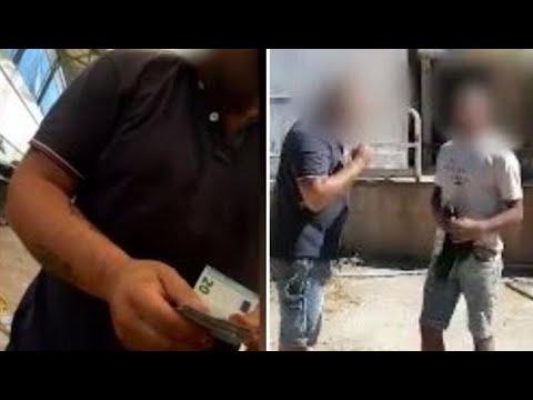 Download Lavoratore sottopagato minaccia di denunciare il caporale ma viene picchiato