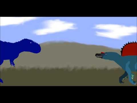 PPBA Spinosaurus vs Vastatosaurus