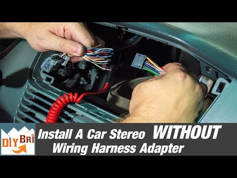 How To Install A Radio Without A Wiring Harness Adapter ... Volkswagen Pioneer Wiring Harness on volkswagen frame, volkswagen oil filter, volkswagen bumpers, volkswagen fuel pump, volkswagen accessories, volkswagen fuses, volkswagen tires, volkswagen timing belt, volkswagen wheels, volkswagen motor mounts, volkswagen radio, volkswagen transmission harness, volkswagen radiator, volkswagen alternator, volkswagen seats,