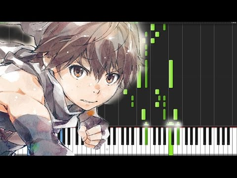 Knew Day - Hai to Gensou no Grimgar (Opening) [Piano Tutorial] (Synthesia)