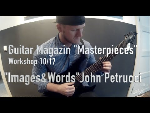 "6 great Masterpieces from Dream Theater's ""Images&Words"" album - Guitar magazine"