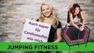 Jumping Fitness Tutorial - Auch für Cardiomuffel wie mich super