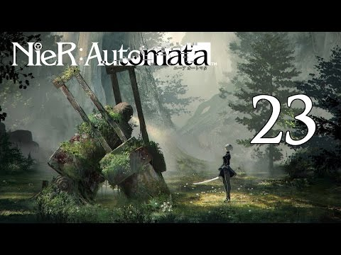 Let's Play NieR: Automata [Blind/German] #23 - Alte Burg