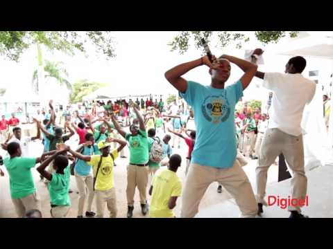 DIGICEL SCHOOL TOUR 2016 - ANTIGUA GRAMMAR SCHOOL