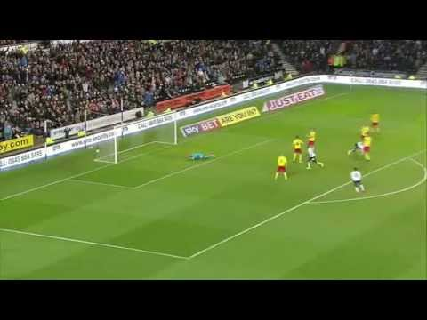 DERBY COUNTY 2-2 WATFORD | Match Highlights | Season 2014/15