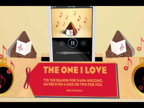 To the one I love, here's a #TobleroneBoombox!