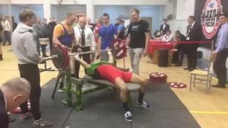 Андрей Ляхов в своей весовой категории стал одним из золотых призеров