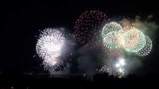 Feuerwerk Seenachtfest Konstanz / fantastical Kreuzlingen 2013