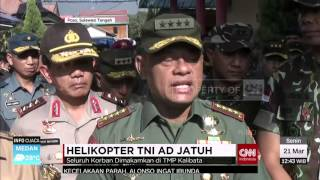 Jenazah Korban Helikopter TNI AD Akan Dimakamkan DI Taman Makam Pahlawan